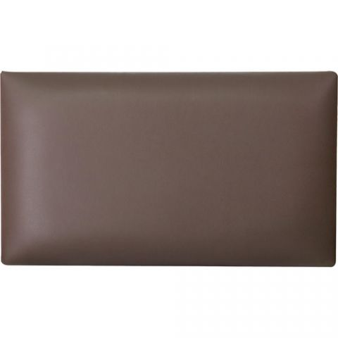 K&M 13821 Imitation Leather Seat Cushion (Brown)  by K