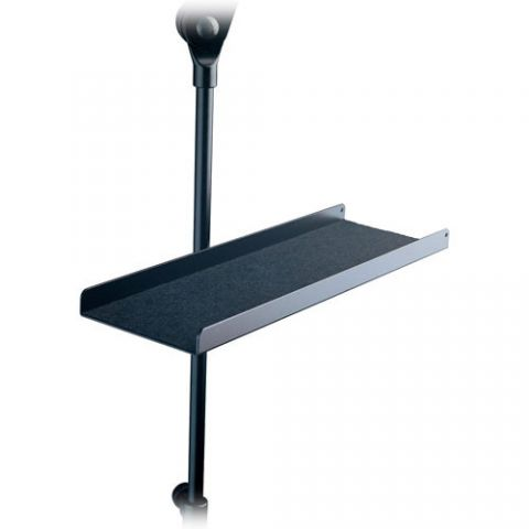 K&M 12218 Aluminum Tray for Music Stands (Black)  by K&M