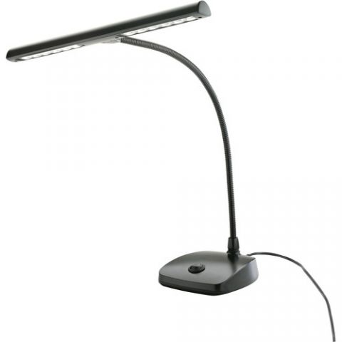 K&M 12297 LED Piano Lamp (Black)  by K