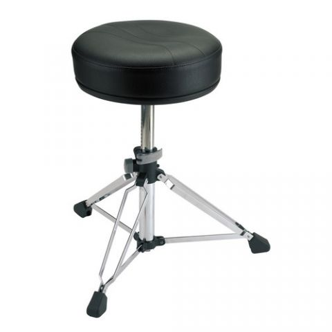 K&M 14007 Drummer's Throne (Chrome)  by K
