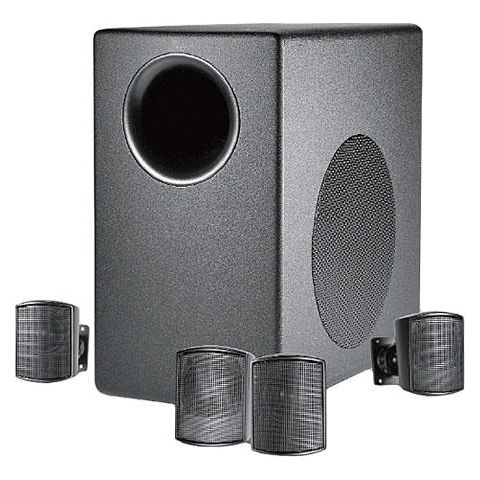 JBL C50PACK Subwoofer-Satellite System, Black  by JBL
