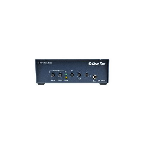 Clear-Com EF-701M 4-Wire Interface with Call Signal by Clear-Com