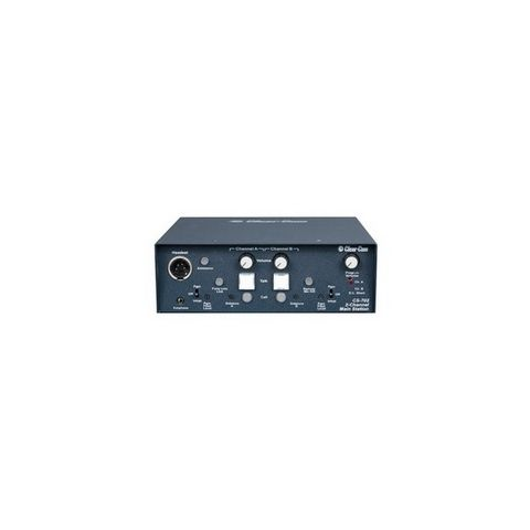 Clear-Com CS-702 2-Channel Portable Headset Main Station by Clear-Com
