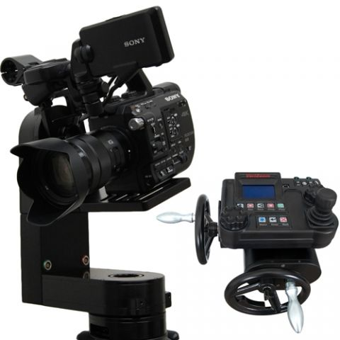 VariZoom VZCPM-K1 CP Micro w/ advanced console and handwheels by VariZoom