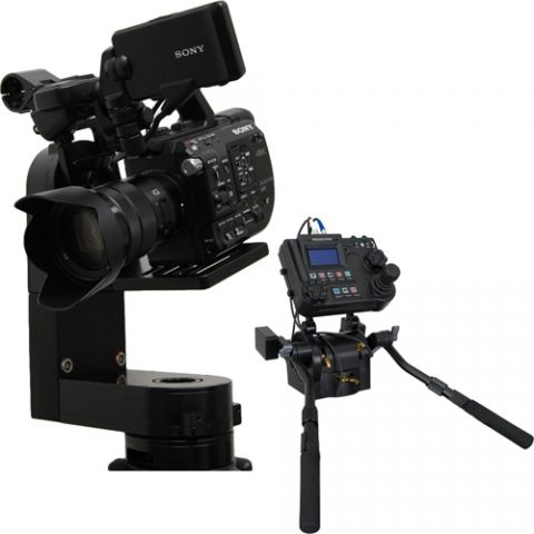 VariZoom VZCPM-K2 CP Micro w/ advanced console and pan bars by VariZoom
