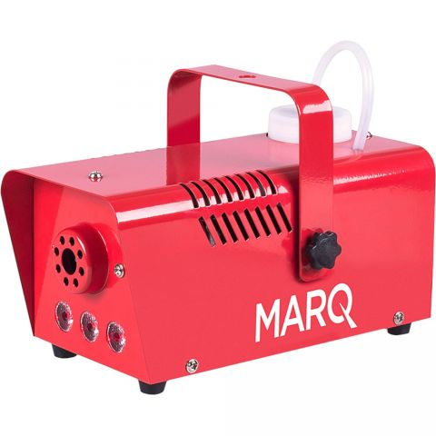 Marq Fog 400 LED Quick-Ready Water-based Fog Machine in Red by MARQ