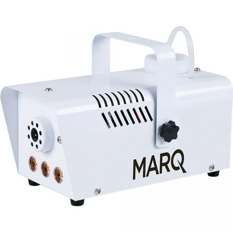 Marq Fog 400 LED Quick-Ready Water-based Fog Machine in White by MARQ