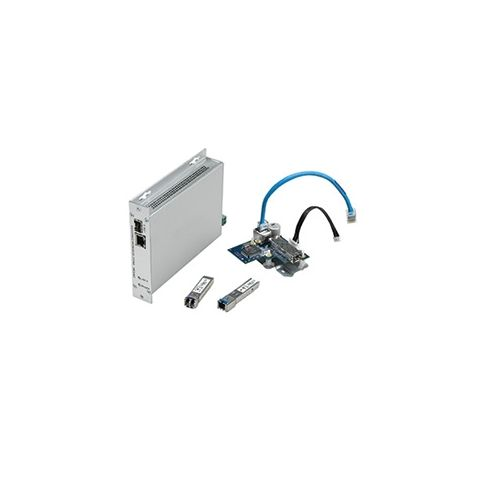 Bosch CNFE2MC/IN Media Converter with SFP Socket, 120-230 V AC, 50/60 Hz, Surface/Rack Mount Enclosure by Bosch Security