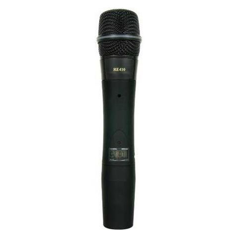 Electro-Voice HTU2C-510-A 1112 Channel Wireless Handheld Transmitter with RE510 Super Cardioid Condenser Microphone Head, A Band: 648-676MHz  by Electro-Voice