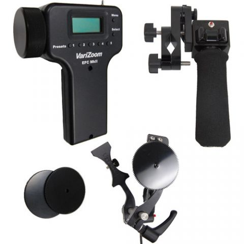 VariZoom VZ-EFZ-PGC zoom and electronic focus control for Canon lens by VariZoom