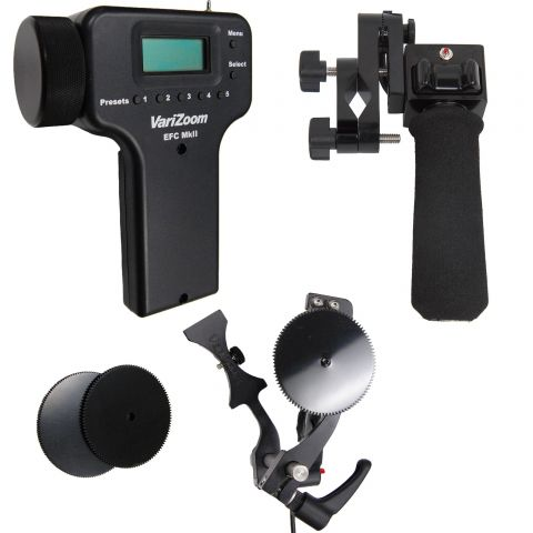 VariZoom VZ-EFZ-PGF zoom and electronic focus control for Fujinon lens by VariZoom