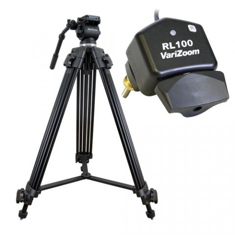 VariZoom VZTK75A-RL100 Video camera tripod lanc control kit by VariZoom