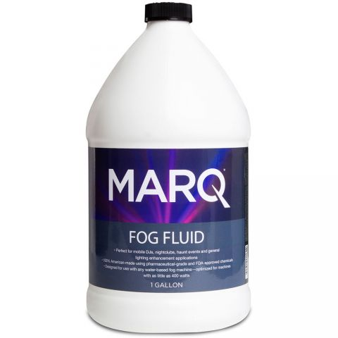 Marq Water-Based Fog Fluid (1 Gallon) by MARQ