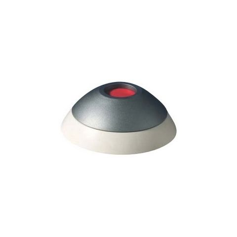 Bosch ISC-PB1-100 Panic Button, 12 to 30V DC, 0.5 Milliampere, IP40, 3.1 CM D, ABS Plastic, Gray, 70 Gram Item Weight by Bosch Security