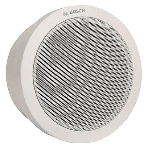 Bosch LB1-UM06E-1 Metal Cabinet Loudspeaker, 6 W Rated Power, 94/86 dB SPL, 160Hz-20kHz Frequency Range, 835/1667 Ohms Rated Impedance, Single, White  by Bosch