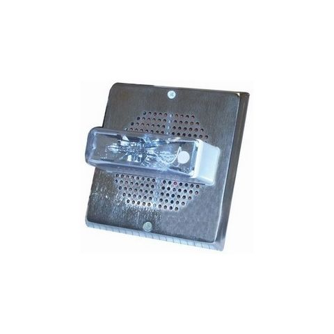Bosch E70-24MCWH-FN Speaker Strobe, 2W 135/185C Square, Nickel by Bosch Security