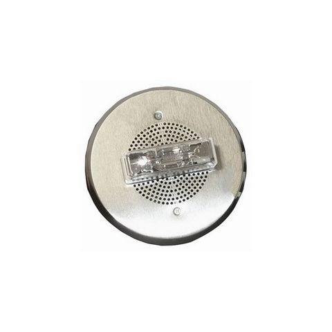 Bosch E90-24MCC-FN Speaker Strobe, 2W 15-95C, Nickel plated, Square by Bosch Security
