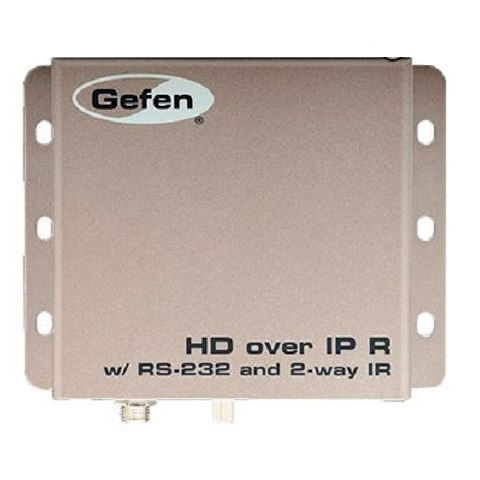 Gefen EXT-HD2IRS-LAN-RX HDMI over IP with RS-232 and Bi-Directional IR - Receiver by Gefen