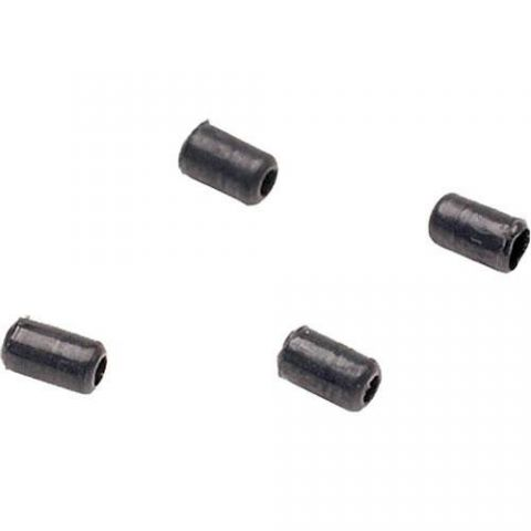 SHURE RPM234 Replacement Protective Caps, +4 dB, for WCE6B and WCB6B, Black (Contains Four) by Shure