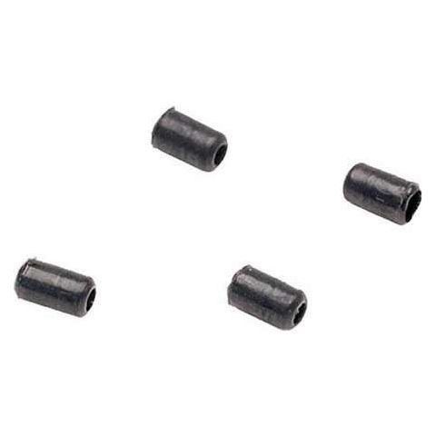 SHURE RPM236 Replacement Protective Caps, +8 dB, for WCE6B and WCB6B, Black (Contains Four) by Shure