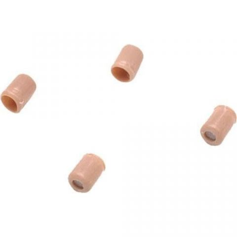 SHURE RPM242 Replacement Protective Caps, +4 dB, for WCE6T and WCB6T, Tan (Contains Four) by Shure
