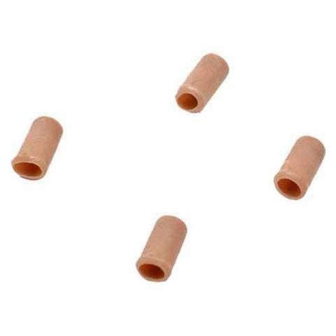 SHURE RPM244 Replacement Protective Caps, +8 dB, for WCE6T and WCB6T, Tan (Contains Four) by Shure