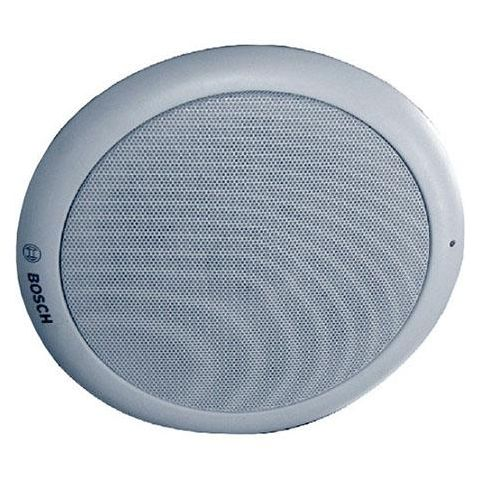 Bosch LC1-UM24E8 24W Ceiling Loudspeaker, 208 / 417 Ohm Rated Impedance, 55Hz to 20kHz Frequency Range, Single, White  by Bosch