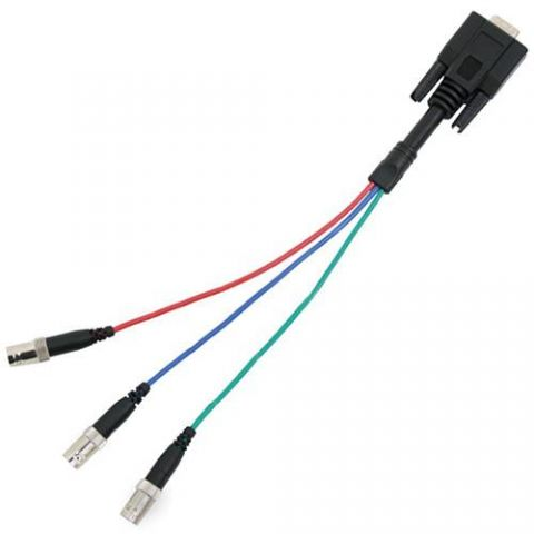 VADDIO 440-5600-002 VGA BREAKOUT CABLE 6FT DE-15 TO 5X BNC by Vaddio
