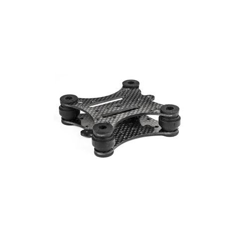 """Marshall Electronics BAV-CVM-3 Four point vibration absorb bracket (1/4"""" to 1/4"""" holes) for use with any 1/4""""-20 screw mount system by Marshall Electronics"""