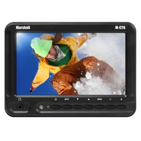 """Marshall Electronics M-CT6-NEL15 6.2"""" TFT LCD HDMI LED Backlight Camera Top Monitor w Nikon NEL15 Battery Assembly  by Marshall Electronics"""