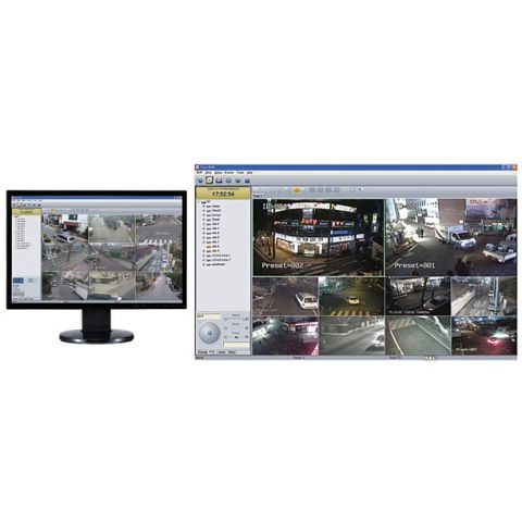Marshall Electronics VMS-64 Video Management Software, Supports 64 Marshall Encoders or Cameras with support for 2 Onvif Encoders or Cameras as substitutions  [Dongle Upgrade] by Marshall Electronics