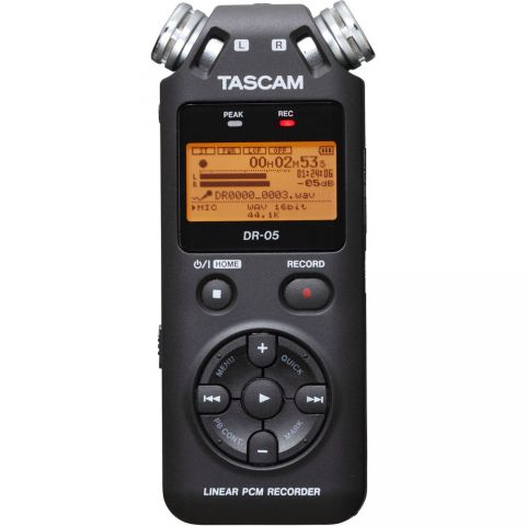 Tascam DR-05 Portable Handheld Digital Audio Recorder by Tascam