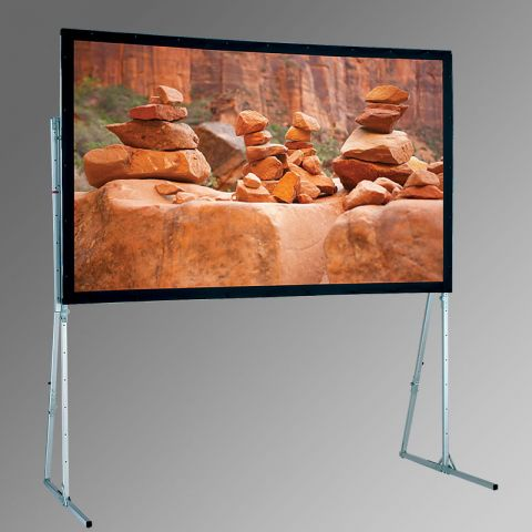 "Draper 241281 Ultimate Folding Screen Complete with Standard Legs Portable Screens, 95"", 16:10, Matt White XT1000V by Draper"