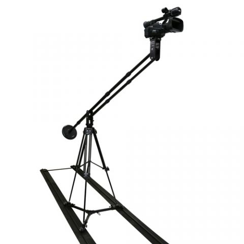 VariZoom SOLOJIBAL-KIT Solo Jib Kit with Tripod and Slider Dolly (Aluminum) by VariZoom