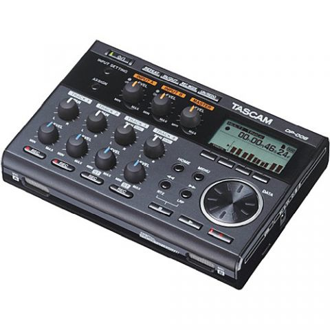 Tascam DP-006 6-Track Digital Pocketstudio by Tascam