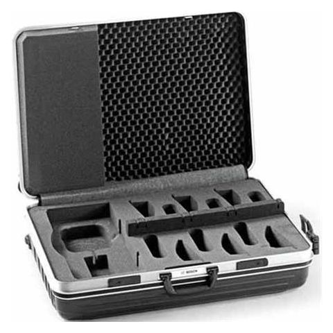 Bosch Transport Case for CCS 1000 D Control Unit and 6x Discussion Devices, Black/Silver  by Bosch