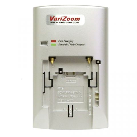 VariZoom Travel Charger for Sony L-Series Batteries by VariZoom