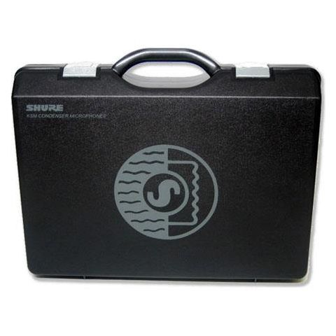 Shure A100C Carrying Case for 2 KSM137 or KSM141 Microphones and A27M Stereo Bar  by Shure