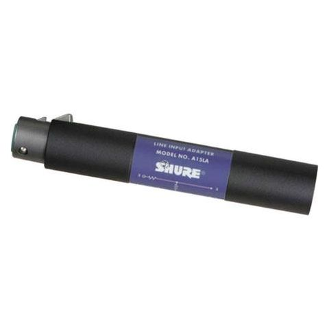 Shure A15LA Line Adapter, 20 Hz to 20 kHz Frequency Response, 100 k ohm Input Impedance  by Shure