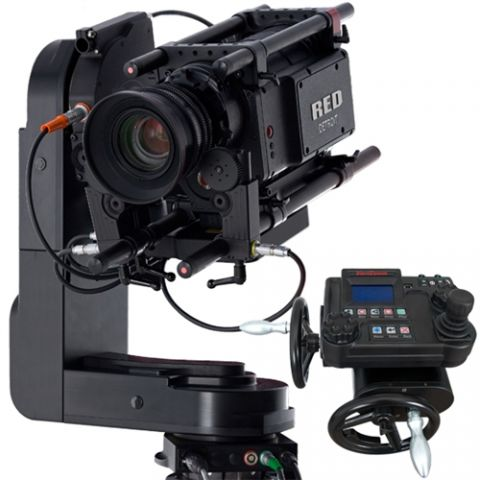 VariZoom CinemaPro-K1 Remote Head w/ Hand Wheels & Console by VariZoom