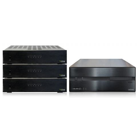 CasaTunes CT-20 Music System with three 6-room Amplifiers by CasaTunes