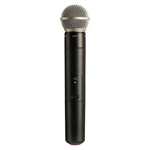 Shure FP2/SM58-H5 Wireless Handheld Transmitter with SM58 Cardioid Microphone Capsule, H5 / 518 - 542MHz Band  by Shure