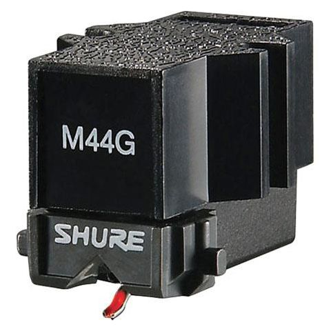 Shure M44G DJ Record Needle, 20 to 20,000 Hz Frequency Response  by Shure