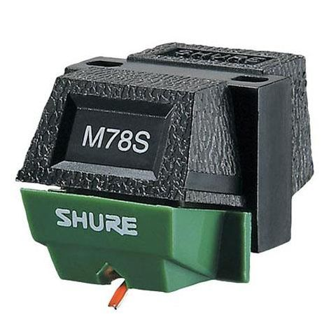 Shure M78S 78 RPM Phono Cartridge for Wide Groove Playback, Stereo  by Shure