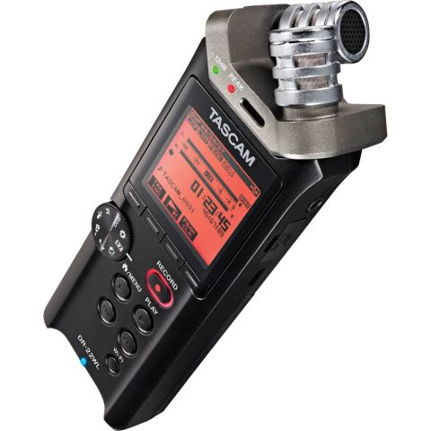 Tascam DR-22WL PORTABLE RECORDER WITH WIFI by Tascam