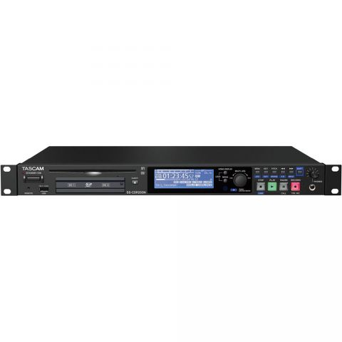 Tascam SS-CDR250N SOLID STATE RECORDER WITH NETWORKING, DUAL SD, CDR by Tascam