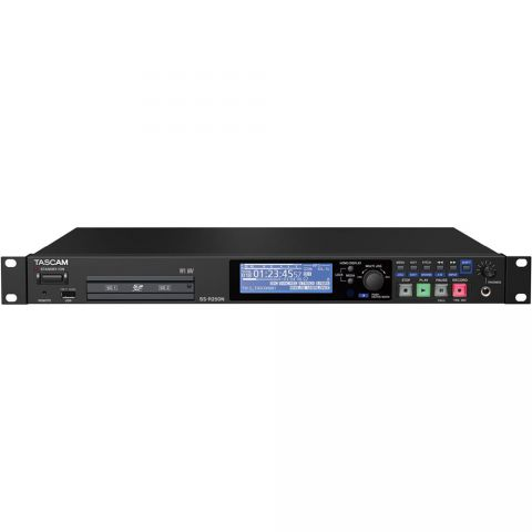 Tascam SS-R250N SOLID STATE RECORDER WITH NETWORKING AND DUAL SD CARD by Tascam