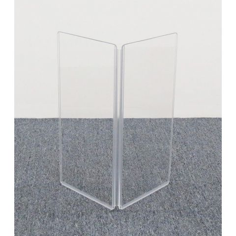 "ClearSonic A1224x2 24"" wide x 24"" high, 2-section Add-On Acrylic Panel w/Hinge by ClearSonic"