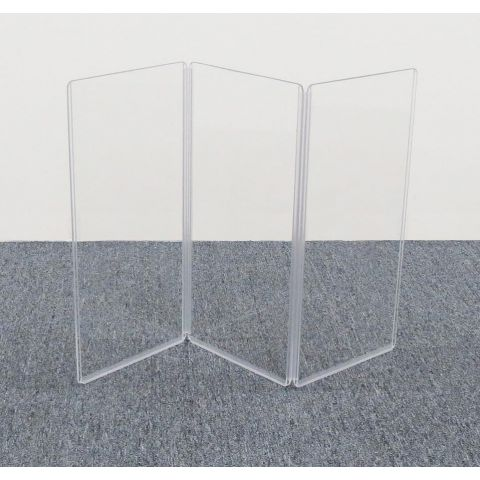"""ClearSonic A1224x3 36"""" wide x 24"""" high, 3-section Acrylic Panel by ClearSonic"""