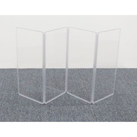 """ClearSonic A1224x4 48"""" wide x 24"""" high, 4-section Acrylic Panel by ClearSonic"""